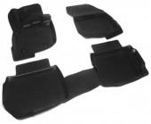 L.Locker Коврики в салон для Ford Mondeo '14-, полиуретановые черные