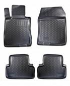 L.Locker Коврики в салон для Honda Accord 8 '08-13, полиуретановые черные