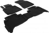 L.Locker Коврики в салон для BMW X5 E53 '00-07, полиуретановые черные