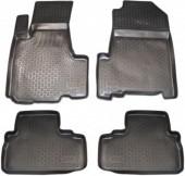 L.Locker Коврики в салон для Honda CR-V '06-12, полиуретановые черные