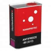 Nanoprotec Red -80C Антифриз концентрат красный