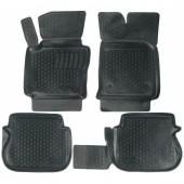 L.Locker Коврики в салон для Volkswagen Caddy '04-15, полиуретановые черные