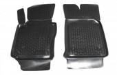 L.Locker Коврики в салон для Volkswagen Caddy '04-15 передние, полиуретановые черные