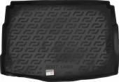 L.Locker Коврик в багажник Kia Ceed '12- хетчбэк, полимерный пластик черный