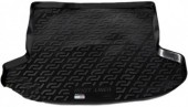 L.Locker Коврик в багажник Kia Ceed '06-12, полимерный пластик черный