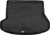 L.Locker Коврик в багажник Kia Ceed '12- универсал, полимерный пластик черный