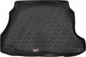 L.Locker Коврик в багажник ЗАЗ (Zaz) Forza / Chery A13 '11- хетчбэк, полимерный пластик черный