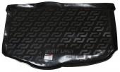 L.Locker Коврик в багажник Kia Soul '09-13 нижний, полимерный пластик черный