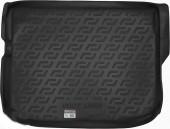 L.Locker Коврик в багажник Mitsubishi ASX '10-, полимерный пластик черный