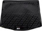 L.Locker Коврик в багажник Volkswagen Touran '03-10, полимерный пластик черный