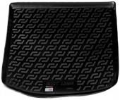 L.Locker Коврик в багажник Volkswagen Caddy '04-15, полимерный пластик черный