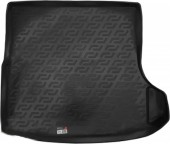 L.Locker Коврик в багажник Volkswagen Golf V '07-09, полимерный пластик черный