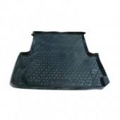 L.Locker Коврик в багажник Toyota Hilux '05-15, полимерный пластик черный