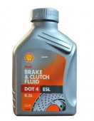 Shell DOT4 ESL Томозная жидкость