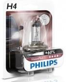 Philips VisionPlus H4 12V 60/55W Автолампа галоген, 1шт