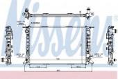 Nissens 60317 Радиатор охлаждения двигателя