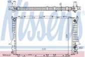 NISSENS 60476 Радиатор охлаждения двигателя