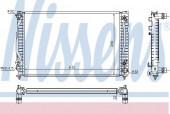 Nissens 60498 Радиатор охлаждения двигателя