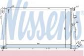 Nissens 61233 Радиатор охлаждения двигателя