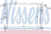 Nissens 61644 Радиатор охлаждения двигателя