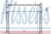 NISSENS 62027A Радиатор охлаждения двигателя