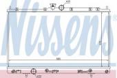 Nissens 62894 Радиатор охлаждения двигателя
