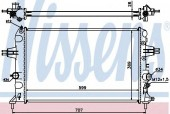 NISSENS 630704 Радиатор охлаждения двигателя