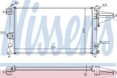 Nissens 632231 Радиатор охлаждения двигателя