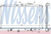 NISSENS 633141 Радиатор охлаждения двигателя