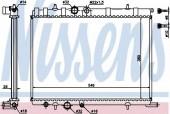 Nissens 63502A Радиатор охлаждения двигателя