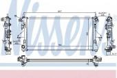 Nissens 63555A Радиатор охлаждения двигателя