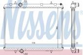Nissens 636006 Радиатор охлаждения двигателя