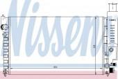 Nissens 63613 Радиатор охлаждения двигателя