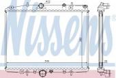 Nissens 63705A Радиатор охлаждения двигателя