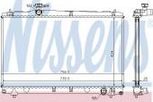 NISSENS 64670A Радиатор охлаждения двигателя
