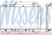 Nissens 646844 Радиатор охлаждения двигателя