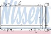 Nissens 64762 Радиатор охлаждения двигателя