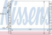 Nissens 652341 Радиатор охлаждения двигателя