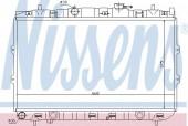Nissens 66648 Радиатор охлаждения двигателя