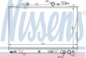 Nissens 67006 Радиатор охлаждения двигателя