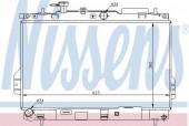 Nissens 67481 Радиатор охлаждения двигателя