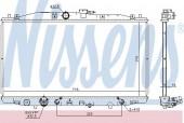 Nissens 68152 Радиатор охлаждения двигателя