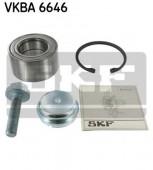 Skf VKBA 6646 Комплект подшипника ступицы колеса