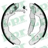LPR 03970 Тормозные колодки, к-т