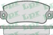 LPR 05P006 Тормозные колодки, к-т дисковые