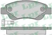 LPR 05P1235 Тормозные колодки, к-т дисковые