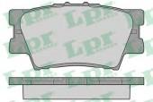 LPR 05P1281 Тормозные колодки, к-т дисковые