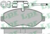 LPR 05P1297 Тормозные колодки, к-т дисковые