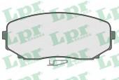 LPR 05P1573 Тормозные колодки, к-т дисковые