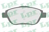 LPR 05P1590 Тормозные колодки, к-т дисковые